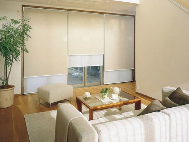 cortina rolo para sala