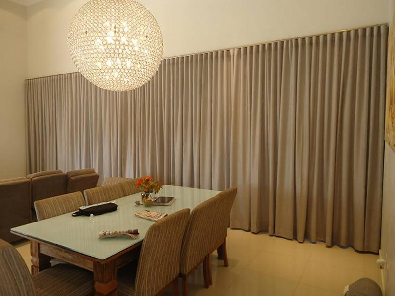 cortina bastão
