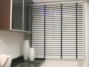 Persiana de Aluminio 50 mm na Cozinha