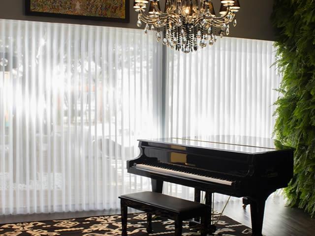 cortina vertivision sala clássica