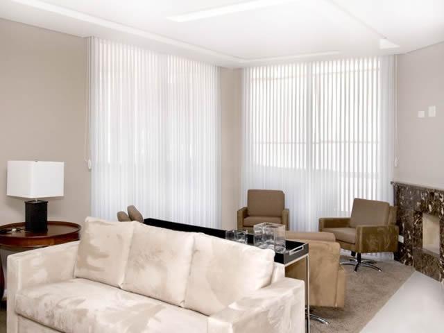cortina vertivision sala de estar